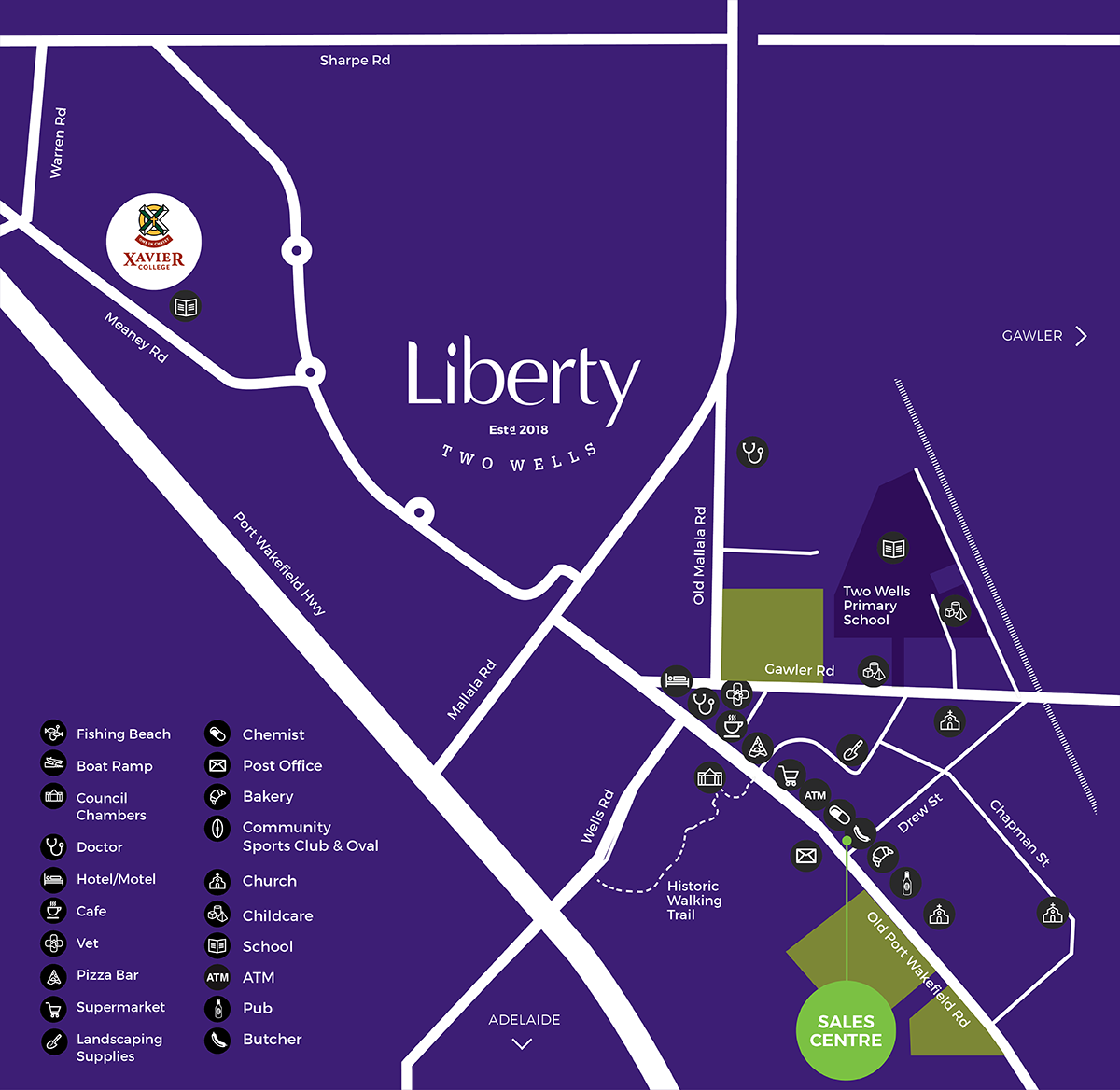 Liberty Living Map